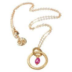 Taya řetízek s přívěskem s rubínem ⋆ Green butik Pendant Necklace, Green, Jewelry, Jewlery, Jewerly, Schmuck, Jewels, Jewelery, Drop Necklace