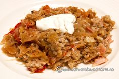 Romanian Recipes, Romanian Food, Cabbage Recipes, Rice, Cooking, Plant, Kitchen, Laughter, Brewing