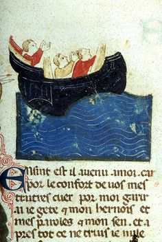 Sailors in Peril | Bestiary | Northern Italy | ca. 1290 | The Morgan Library & Museum