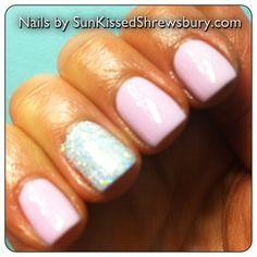 .@nails_sunkissedshrewsbury (Melissa Sunkissed) 's Instagram photos |  #glitter #nails #accentnail #shellac #soakoffgel #shimmer #manicure #nailpolish