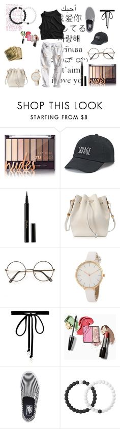"""black n white"" by kutekookie-clix on Polyvore featuring SO, Guerlain, Sophie Hulme, Joomi Lim, Vans and Lokai"