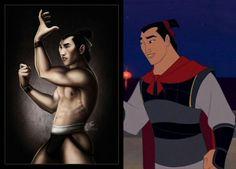 Sexy Disney Male Heroes - Mulan: Li Shang