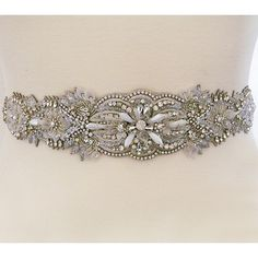 Deepa Gurnani Bridal Belts & Sashes. A stunning bridal sash of intricate beadwork, crystals, pearls & mother of pearl beads. Jewelry for your waist.