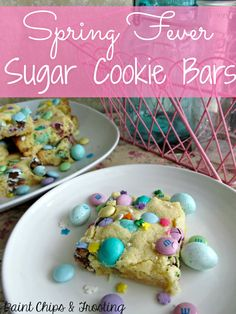 These Loaded Sugar Cookie Bars are perfect for Easter!
