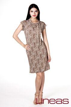 Vestido, Modelo 19845. Precio $170 MXN #Lineas #outfit #moda #tendencias #2014 #ropa #prendas #estilo #primavera #outfit #vestido