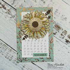 Desktop Calendars - November & December 2021 | Swimming In Stamps November Calendar, 2021 Calendar, December, Print Calendar, Calendar Pages, Wood Dice, Single Tree, Desktop Calendars, Embossing Folder