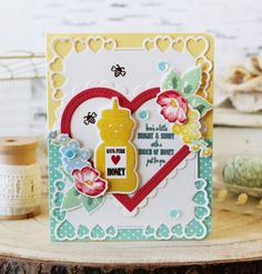 Just for You Card by Melissa Phillips for Papertrey Ink (December 2017)