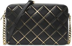 72e5f1715cd1 Shop Women's Michael Kors Black Gold size OS Crossbody Bags at a discounted  price at Poshmark. Description: Over the shoulder bag used once.