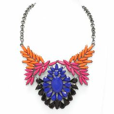 Summer Statement Shourouk Style Necklace - Steal Her Style | Online Fashion Store | Shop The Latest Trends £29