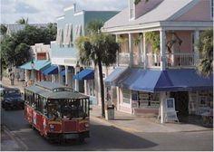 Key West, FL Duval Street Trolleys