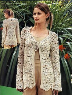Crochet cardigan,... Now available to sale. The new handmade product - made to order, come and check! http://www.asdidy.net/products/crochet-long-cardigan-jacket-1?utm_campaign=social_autopilot&utm_source=pin&utm_medium=pin  www.asdidy.net