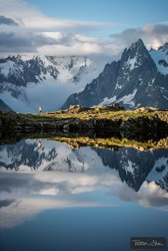 Beautiful place for a run (Chamonix, France) by Tristan Shu on 500px #chamonix