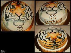 Ručne maľovaná torta