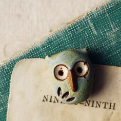 Art Bead Scene Blog: Amuse Your Muse Monday - Bird Beads - with Rebecca of Songbead
