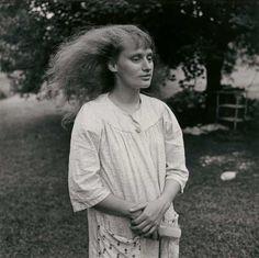 "Exhibition: 'Emmet Gowin' at the Fondation Henri Cartier-Bresson, Paris. Dr Marcus Bunyan. ""Emmet Gowin is a superlative photographic artist."" Photo: Emmet Gowin. 'Ruth, Danville (Virginia)' 1968"