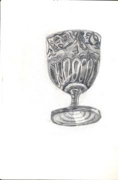 Mini Cup from Croatia. Drawn in pencil by me I'm thinking of further developing this idea on Photoshop or possibly an enlarged section of it too.