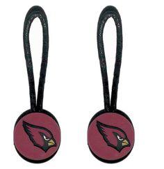 Arizona Cardinals Zipper Pull (2-Pack)