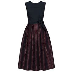 'Night Candy' Sleeveless Bow Waist Midi Dress