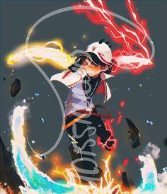 Boboiboy movie 2 solar and halilintar andelements Hero Poster, Boboiboy Anime, Anime Demon, Cool Animations, Boboiboy Galaxy, Pokemon Firered, Anime Galaxy, Anime Films, Cartoon