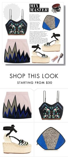 """""""#patternmixing"""" by hellodollface on Polyvore featuring Emilio Pucci, Missoni, Feather.M, Alexander McQueen and patternmixing"""