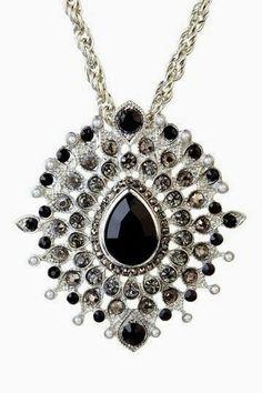 peacock silver pendant