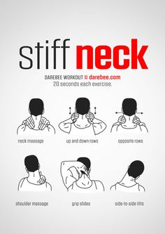 Stiff Neck  Workout | Posted By: AdvancedWeightLosstips.com