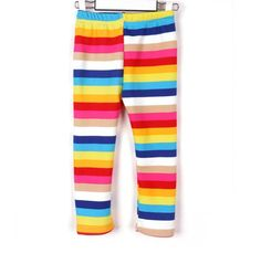 BABY PANTS LEGGING THICK WARM LINING TROUSERS WITH RAINBOW STRIPS Baby Pants, Pajama Pants, 6 Years, Kids Clothing, Wardrobe Staples, Cool Kids, Kids Outfits, Trousers, Stripes