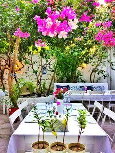 Pla'ce in #alacati Turkey. Number 1 restaurant in town according to TripAdvisor.