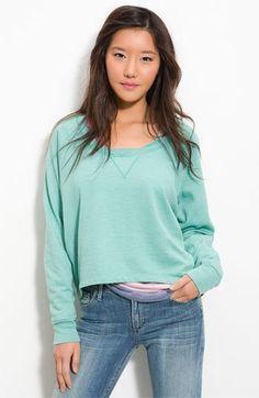Splendid Slouchy Cropped Sweatshirt | Nordstrom - StyleSays