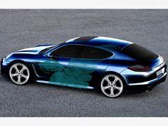 2009 Porsche Panamera Turbo #cars #coches #carros