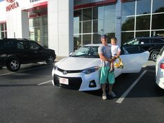 Congratulations to the Kurkowski family of Pikeville, Ky on their purchase of this all new 2015 #Toyota #Corolla from Chris Fouts! Thank you all and we welcome you to the Walters Toyota Nissan Family! #WaltersToyota #WaltersNissan