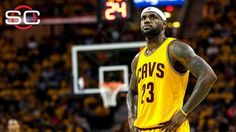 LeBron James of Cleveland Cavaliers ditched headband to look like his teammates