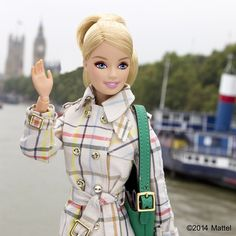 Cheerio, London! Spent this gorgeous day enjoying the city.  #lfw #barbie #barbiestyle