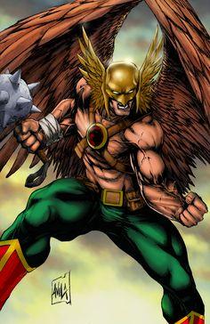Hawkman Commission Colors by hanzozuken on DeviantArt