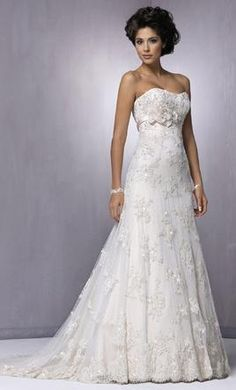 Sample Maggie Sottero Wedding Dress A3286, Size 12  | Get a designer gown for (much!) less on PreOwnedWeddingDresses.com