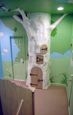 Imaginative Indoor Tree House Artificial tree for Kids by Kidtropolis, leuke voorbeelden