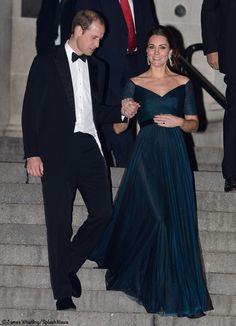 Leaving the University of Saint Andrews gala at the Met Dec 9 2014  James Whatling/Splash News