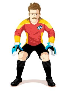 Pedro Paprika – Character Design for the TUC soccer game