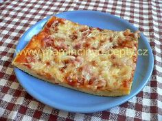 Jogurtová pizza Pizza, Quiche, Macaroni And Cheese, Breakfast, Ethnic Recipes, Food, Morning Coffee, Mac And Cheese, Essen