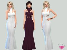 Molly Dress by Karla Lavigne at TSR via Sims 4 Updates
