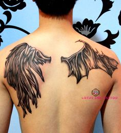 Awesome wings #tattoo