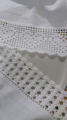 New Crochet Blanket Edging Picot Ideas - Diy Crafts - hadido Crochet Blanket Edging, Crochet Edging Patterns, Crochet Lace Edging, Crochet Borders, Filet Crochet, Crochet Trim, Diy Crochet, Crochet Doilies, Crochet Stitches