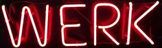 #Werk Personalized #NeonSign #Neon http://www.neonandmore.com/neon-signs/custom-neon-signs.html
