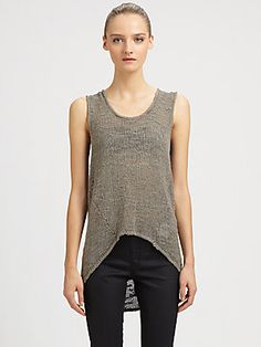 Favorite things - #HelmutLang is my go to for simple, sleek, everyday tops, followed by #RickOwens.  Who is your favorite?