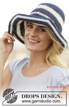 связать полосатую шляпу