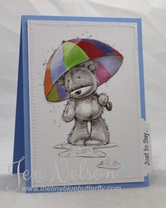 LOTV - James and Jenny Bear Art Pad by DT Jen