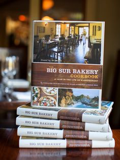 Beautiful location, delicious food and they now have a cookbook.