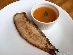 Pescado en salsa de cítricos