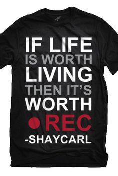 I WANT THIS SHIRT!!! <3 ShayCarl