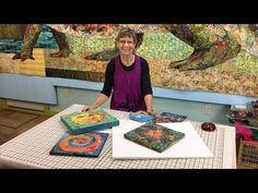 Susan Carlson on hanging art quilts Fiber Art Quilts, Textile Fiber Art, Quilting Frames, Quilting Tips, Art Quilting, Fabric Painting, Fabric Art, Hanging Quilts, Hanging Art